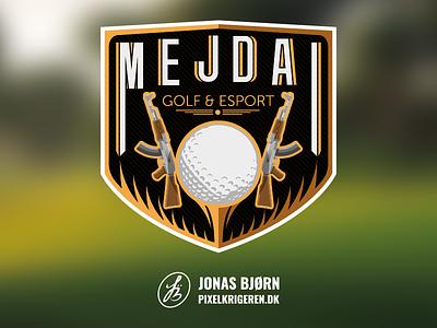 Mejdal | golf & esport esportlogo esports esport gaming logo gaminglogo typography logodesign cs:go counter strike gaming logotype logo design logos logo