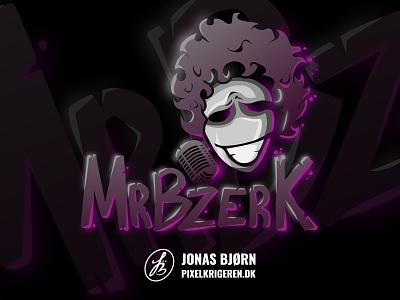 MrBzerk design typography gaming logo esportlogo logotype character design character esports esport logodesign branding illustration illustrator cs:go counter strike gaming logo design logo