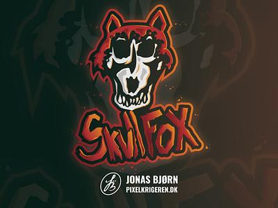 SkullFoX fox logo animals animal fox esportlogo gaming logo illustrator esports logodesign esport branding illustration logo design logo