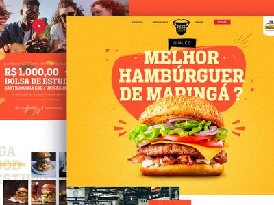 Maringá Food Festival - Website