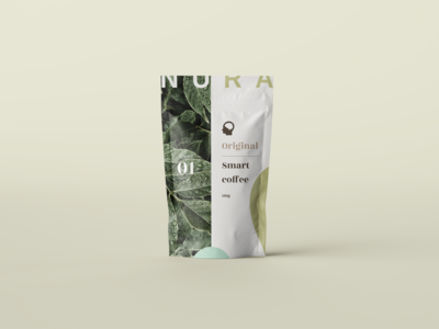 Nura / Stand up pouch packaging