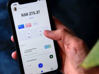 Nova bank app — refill protopie refill card interaction ux ui app animation protopie5.0