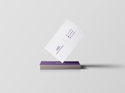 Bidding.lv Business Card design
