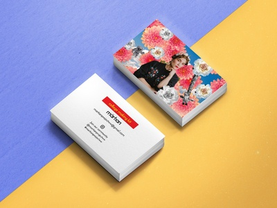 Personal project business cards