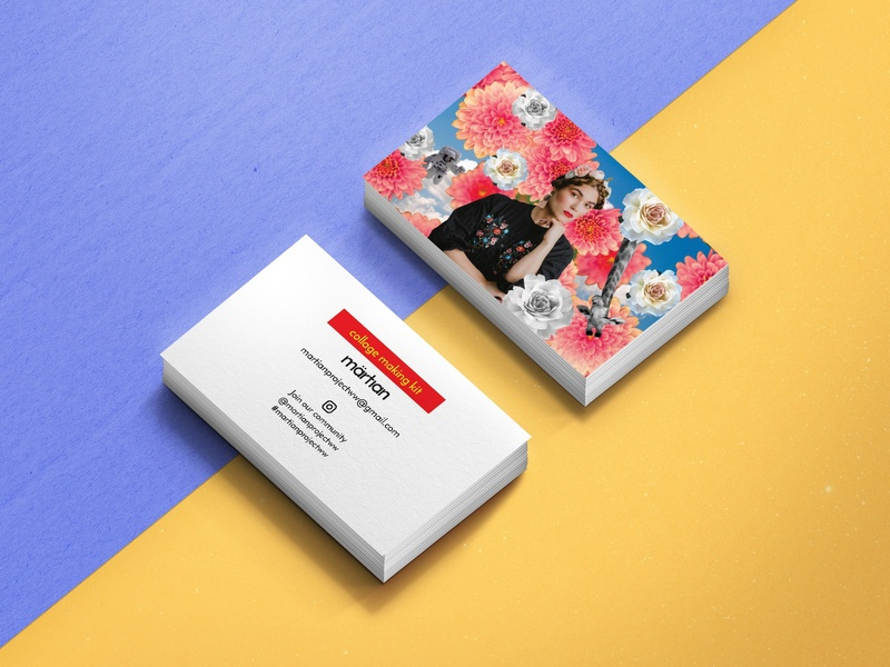 Personal project business cards collage branding illustration design business card mockup business card design business card graphic  design