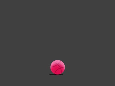 Loading Animation bounce dribbble logo loading animation loading screen stretching uidesign basketball dribbble animation vector artwork illustation