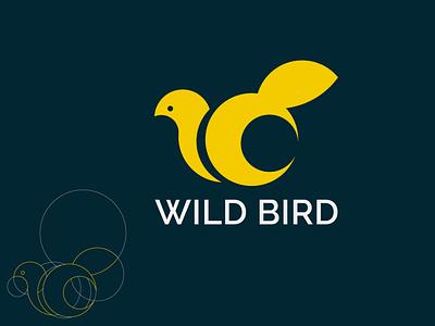 Bird logo logodesign logotype illustration flat logo logo design flat design branding vector minimal logo flat logo design bird logo