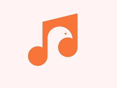 Music Logo illustration flat logo logo design flat design branding vector minimal logo flat logo design music logo
