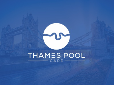 Thames river London flat logo design graphicdesign logodesign flat logo design vector logo design branding minimal logo