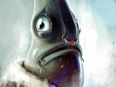 Mr.FISH illustration