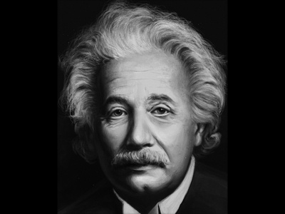 Albert Einstein portrait