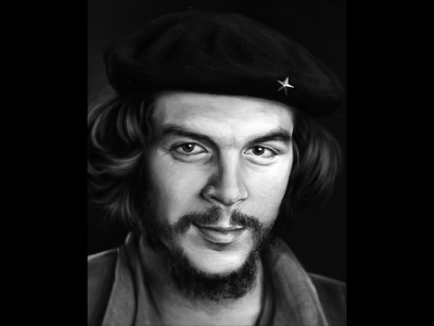 Che Guevra painting history face portrait