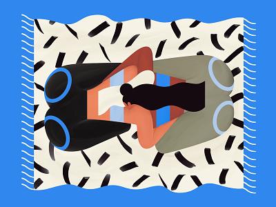 Cuddle buddy carpet friends buddy cuddlebuddy cuddle illustration