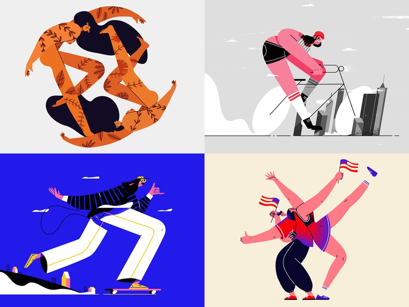 2018 characterdesign illustration top 4 top