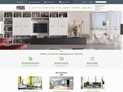 """Design for """"Mr.Doors"""" dealer adaptive concept art online shop design"""