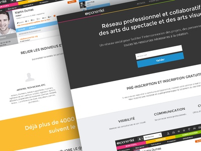 Exponentiel home page