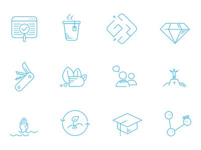 Simple Illustrations icon line simple illustration