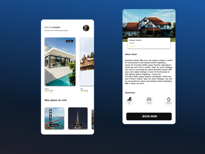 Flutter House Renting UI cross platform app aplication ios app development ios app flutterio flutter android app development android app