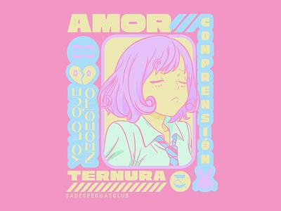 Yo lo que necesito es... tenderness understanding loli heart pink bunny waifu anime love