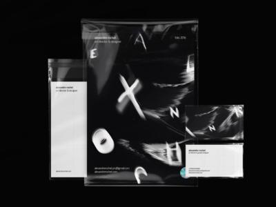 Alexandre Rochet Identity 2016 stationery