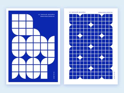 Modulor design biennale poster