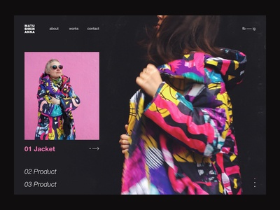 Personal website - Home page
