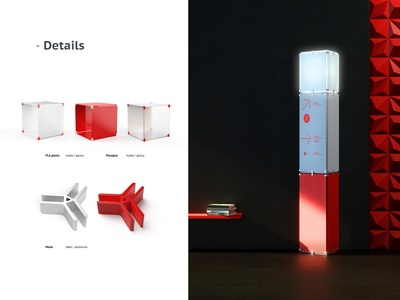 Modular exhibition furniture