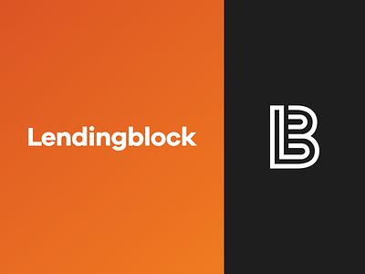Lendingblock - Branding studio identity design crypto identity cryptocurrency guidelines brand mark icon branding logo design