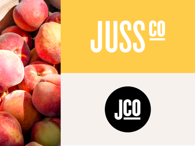 Juss Co - Branding branding design website graphic design studio design studio fresh visual identity identity logo brand branding