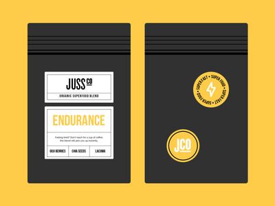 Juss Co - Packaging logo identity brand packet pack pouch design packaging