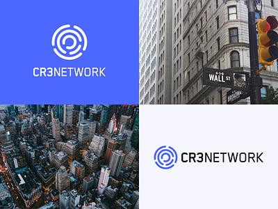 CR3 Network - Brand brand guidelines logo identity technology finance fintech branding design crypto cryptocurrency brand