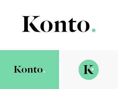 Konto - Brand brand identity design finance fintech design brand guidelines branding design mark logotype logo agency studio identity cryptocurrency crypto branding