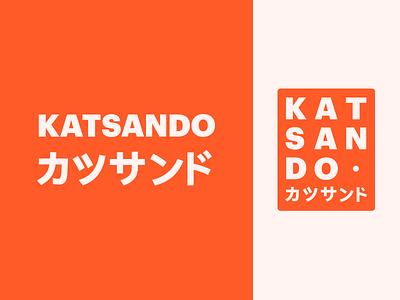 Katsando - Logo truck food design identity design studio logo identity branding brand