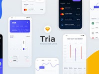 Tria Finance App UI Kit