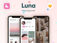 Luna Photo App Ui Kit
