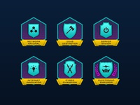Cyber Lab Achievement Badges