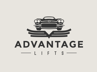 Advantage Lifts Logo