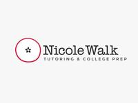 Nicole Walk Tutoring Logo