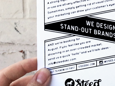 Screen Printed Flyer promo advertisement flat line flier screen print type typography boxes one-color