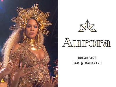 When Beyonce wears your logo to the Grammys crown goddess celebrity hand type lettering line logo