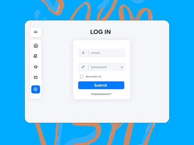 Login Screen For dashboard design webdesign web website login design login page login