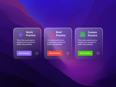 Cards for Quizes #cards cards card ux vector illustration logo concept app website branding ui design