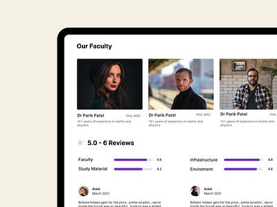 Services Showcase ✨👀 webpage reviews cards ux service branding website ui design