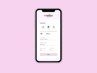 Daily UI 002- Checkout Form
