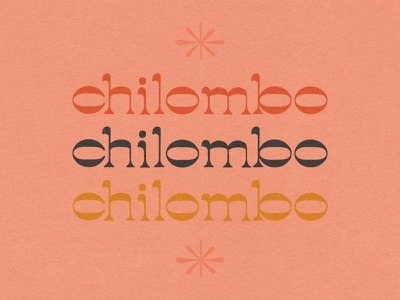 Chilombo procreate lettering retro letters texture music album art hand lettering illustration typography type design