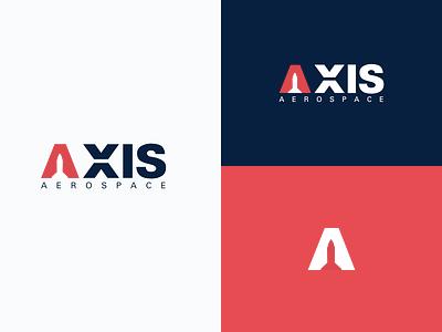 Axis Aerospace Logo rocket logo axis aerospace logomark inspiration icon design dailylogo dailylogochallenge graphic design logo branding