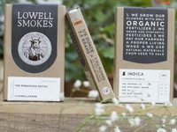 Lowell Herb Co Packaging