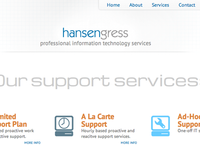 Hansen Gress Website