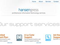 Hansen Gress Website