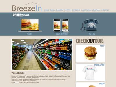 Breeze In website